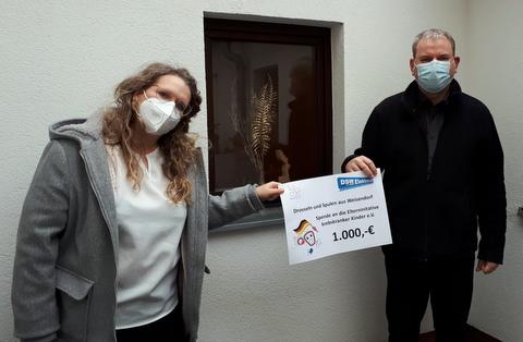 1.000 Euro von der DSW Elektronik GmbH