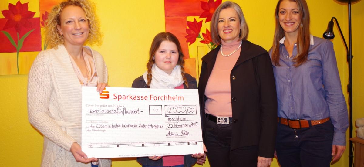 Spedition Pohl spendet 2.500 Euro