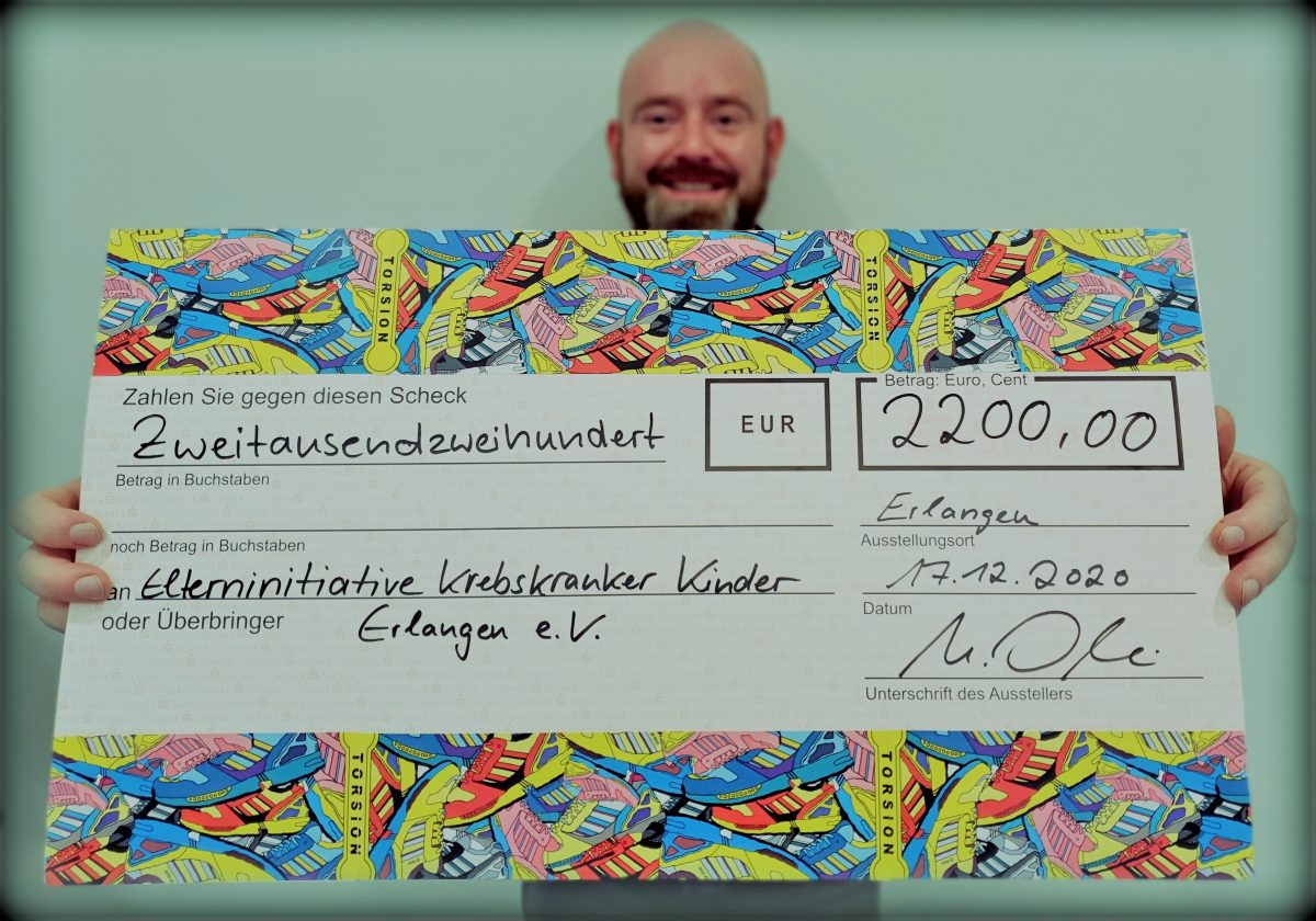 2.200 Euro aus kreativen Aktionen