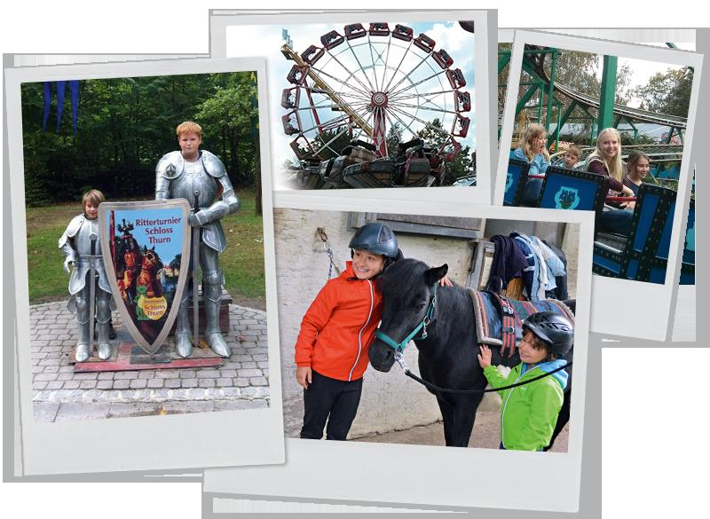 Collage Geschwisteraktionen Elterninitiative krebskranker Kinder Erlangen e.V.