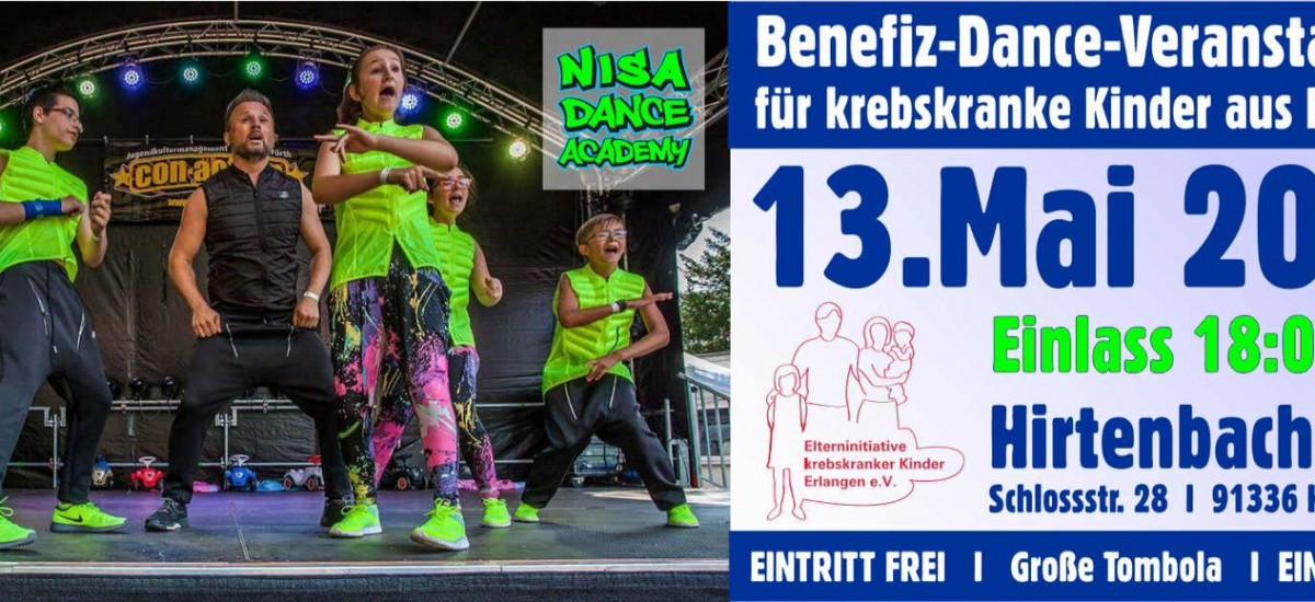 """Benefiz-Konzert der N.I.S.A. DANCE ACADEMY mit dem Motto """"Tanzen für krebskranke Kinder aus Franken"""""""