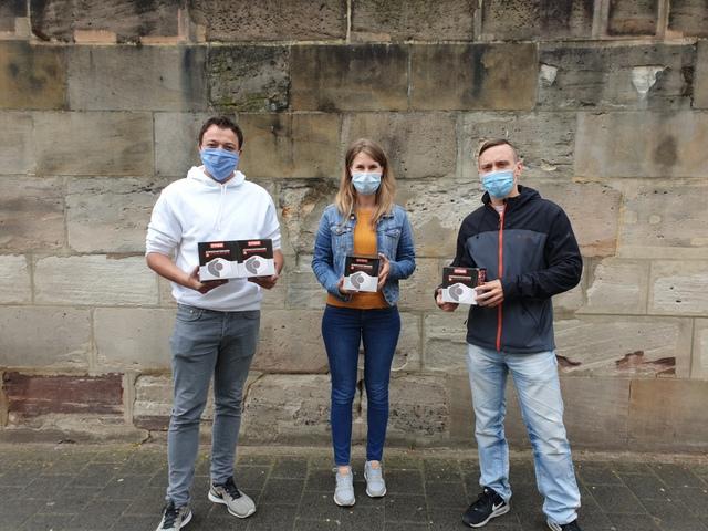 NAF Neunkirchener Achsenfabrik AG spendet 40 Gesichtsmasken