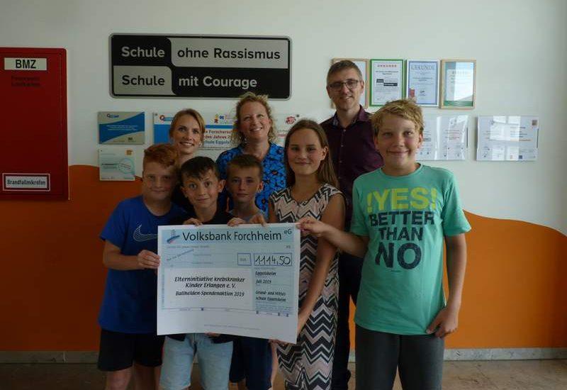 Ballheldenaktion der Grund- und Mittelschule Eggolsheim