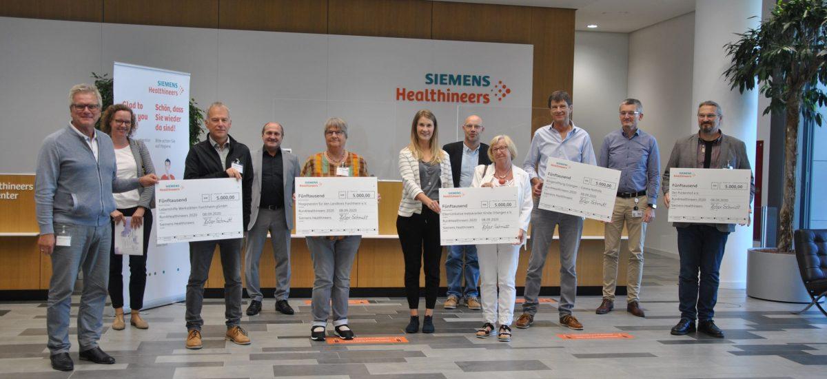 Siemens Healthineers Forchheim MitarbeiterInnen rennen für einen guten Zweck