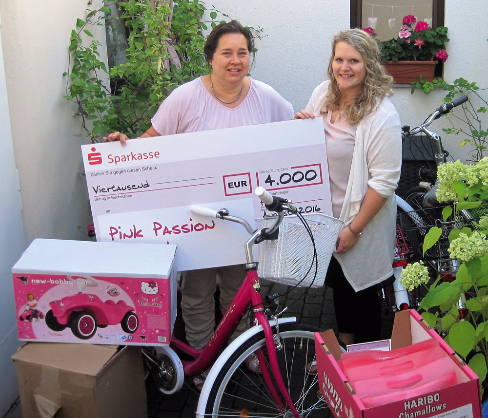 4.000 Euro Erlös vom Pink Passion Project
